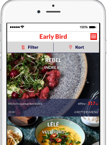 app iphone android early bird restauranter